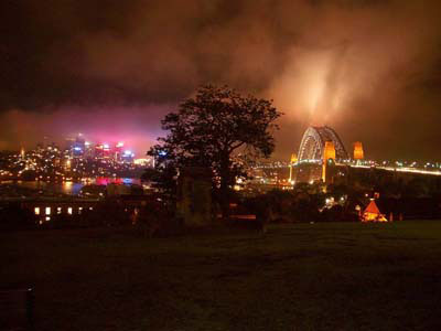 Sydney Australia before Earth Hour