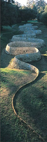 Andy Goldsworthy Stone River
