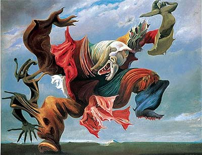 Max Ernst Fireside Angel