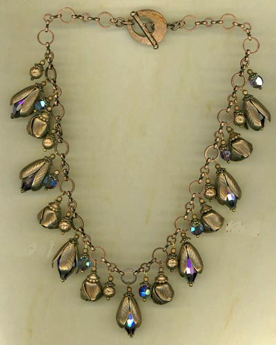 Kathy Domokos Art Nouveau Necklace