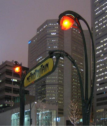 Victoria Station Montreal metro